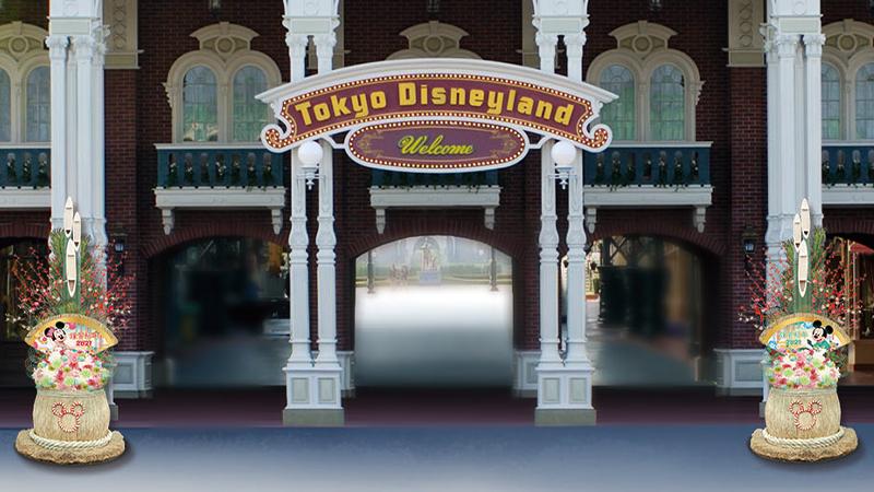 東京ディズニーシーのお正月