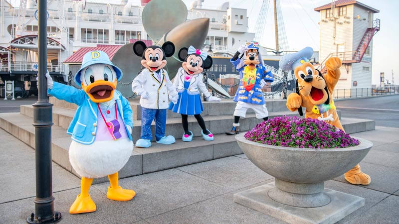 Enjoying Tokyo DisneySea with Young Children