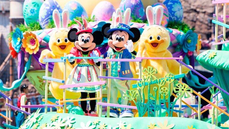 特別活動「迪士尼復活節」