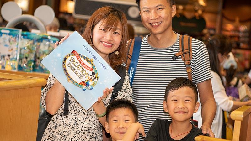 善用可享受優渥禮遇的「東京迪士尼度假區假期套票」,令您的遊園時光更添歡樂