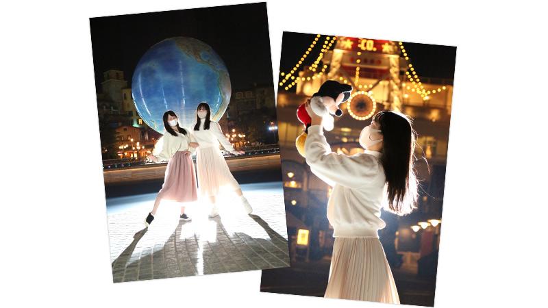 東京ディズニーシー「夜景と光の撮影」