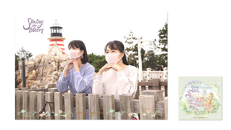 東京ディズニーシー「ダッフィー&フレンズのスプリング・イン・ブルーム」