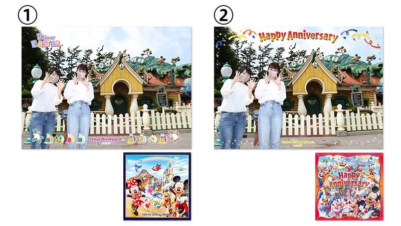 東京ディズニーランド「イースター気分を楽しめる写真」