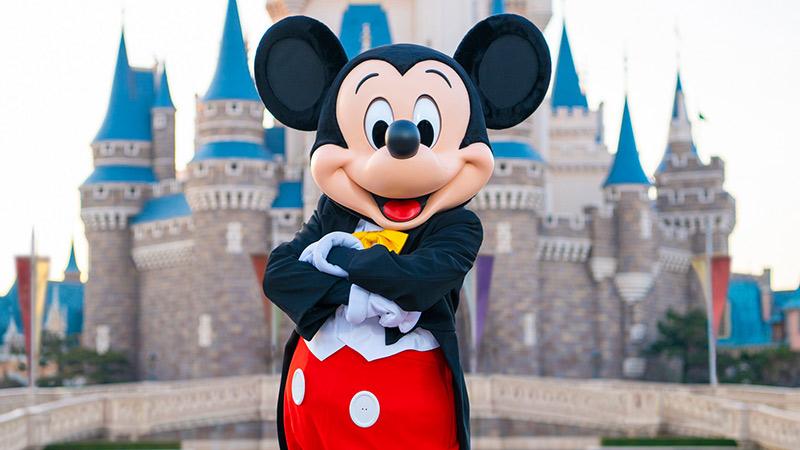 ミッキーマウスのイメージ