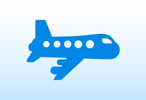 空港からのアクセスのイメージ