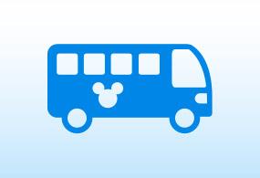 各ホテルからのアクセス(シャトルバス)のイメージ