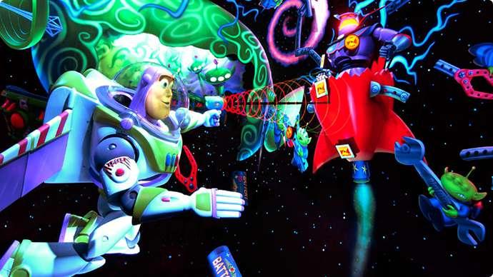 10.Buzz Lightyear's Astro Blastersのイメージ