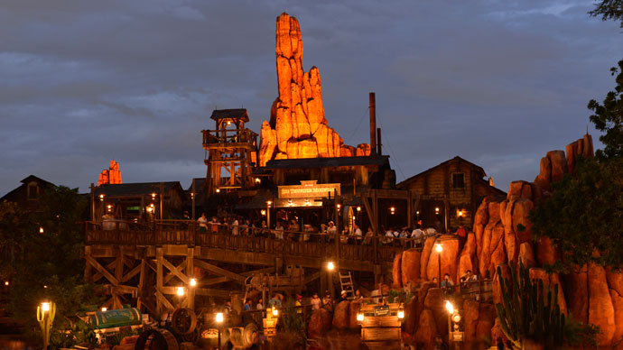 11.Big Thunder Mountainのイメージ