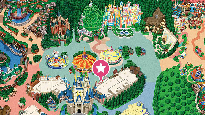 6.ミッキーのフィルハーマジックの場所のイメージ