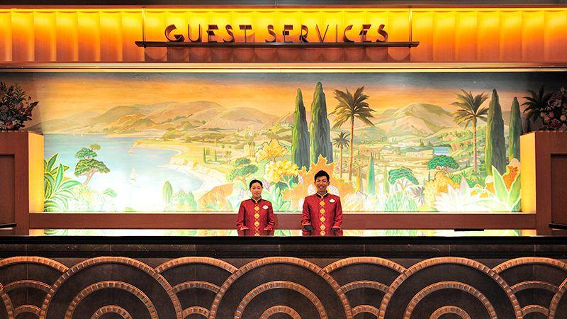 ゲストサービスカウンターのイメージ