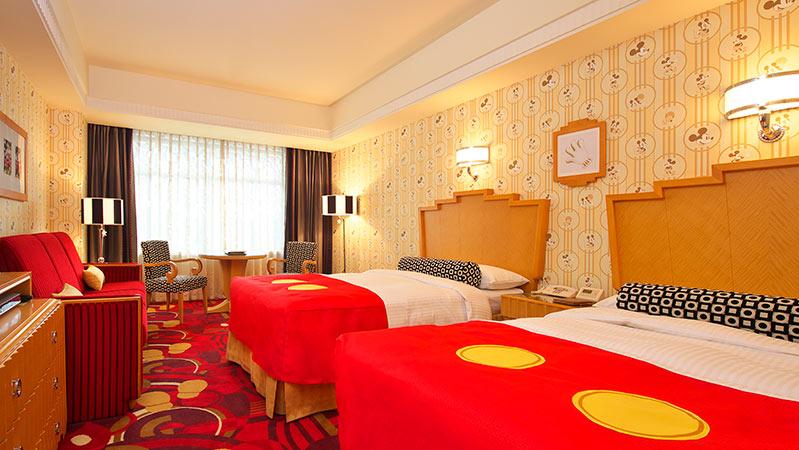 ディズニーアンバサダーホテル客室1