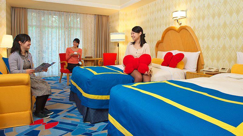ディズニーアンバサダーホテル客室3