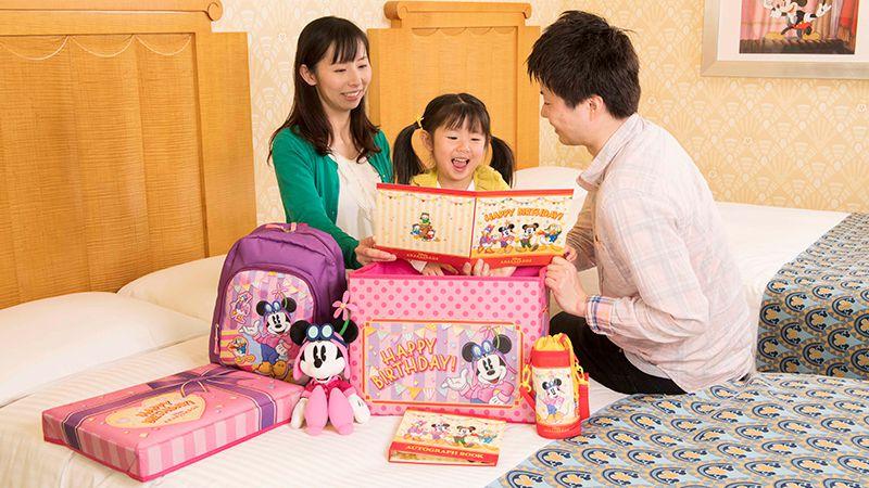 お子様向けのオリジナルプレゼントボックスのイメージ