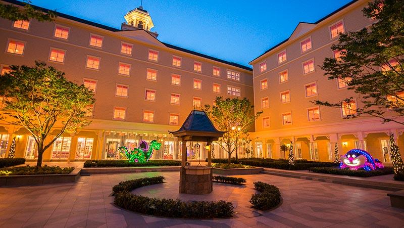 ディズニーセレブレーションホテル(ウイッシュ)の外観