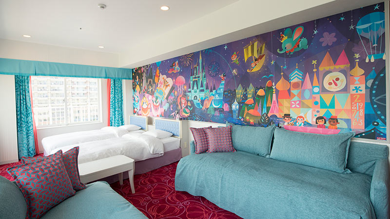 Guest Room at Tokyo Disney Celebration Hotel – Wish