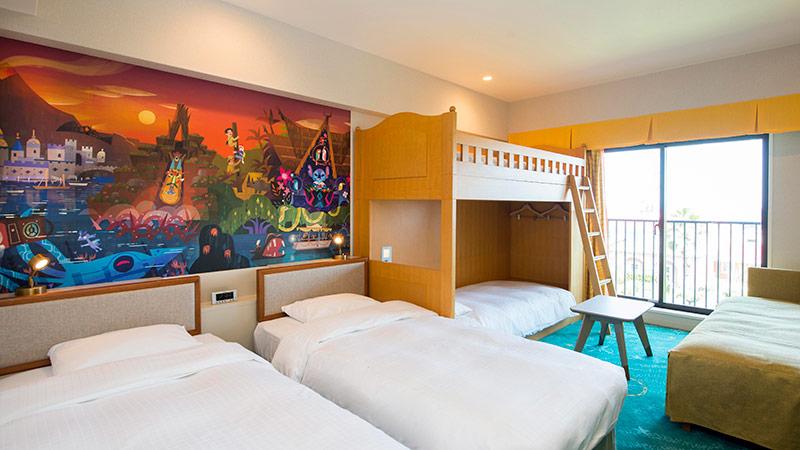 「東京ディズニーセレブレーションホテル:ディスカバー」の客室のイメージ