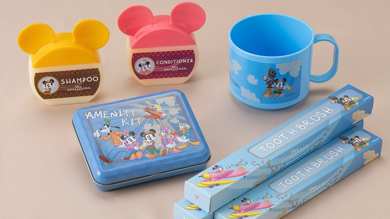 Original room amenities with Disney Character designs