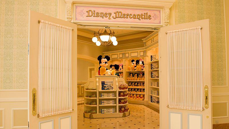 東京ディズニーランドホテルのショップのイメージ