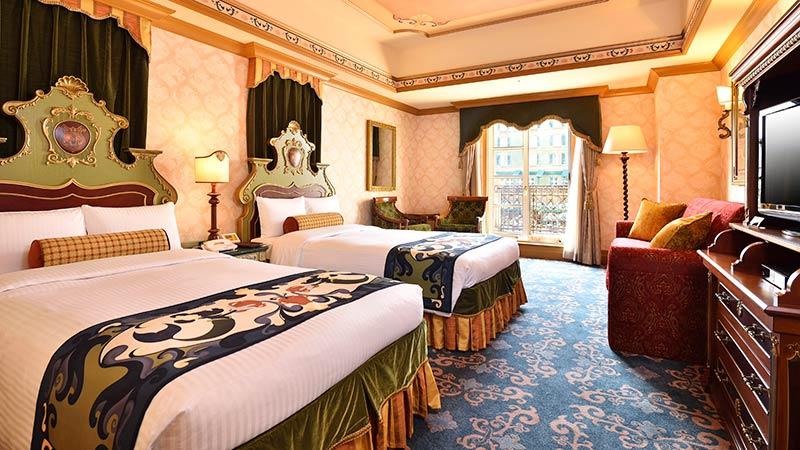 ディズニーホテルミラコスタ客室1