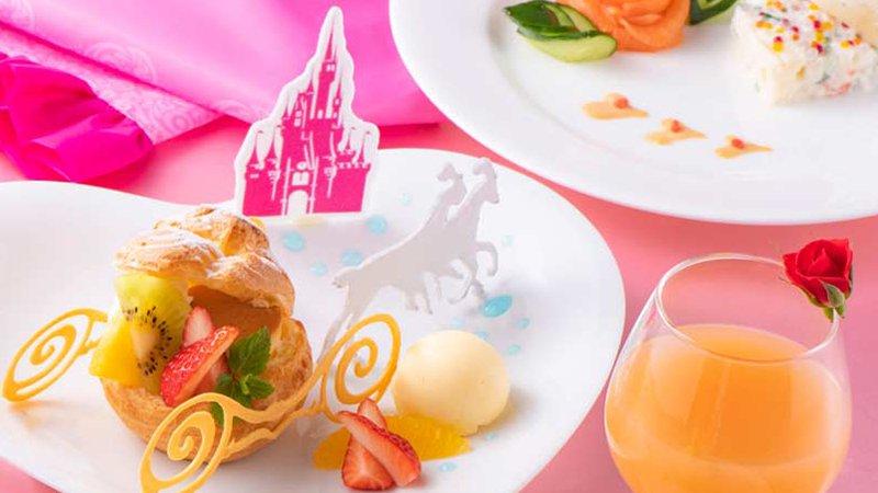 プリンセス姿で優雅にお食事(カンナ)のイメージ