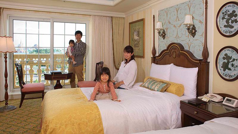 東京ディズニーランドホテル客室2