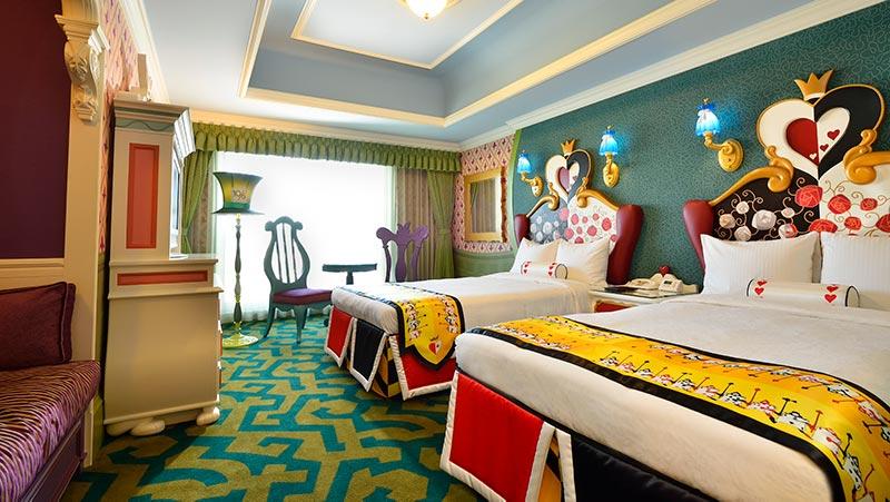 東京ディズニーランドホテル客室3