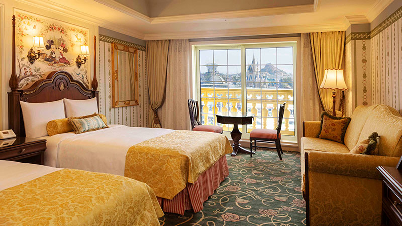 Enjoy a relaxing stay while immersed in the Kingdom of Dreams and Magic.