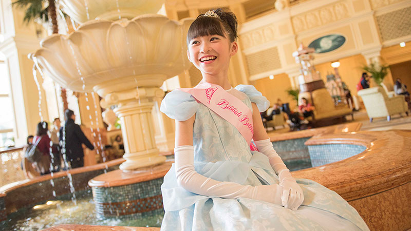 Dress up as your favorite princess at the Bibbidi Bobbidi Boutique