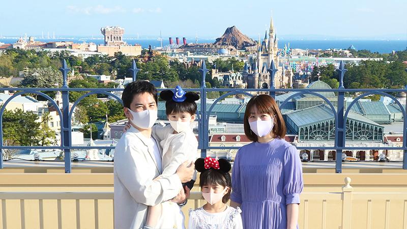 東京ディズニーランドホテルを巡るフォトツアーのイメージ