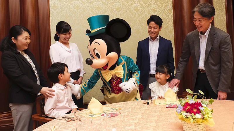 東京ディズニーランドホテル  セレブレーションダイニング&グリーティングプランのイメージ