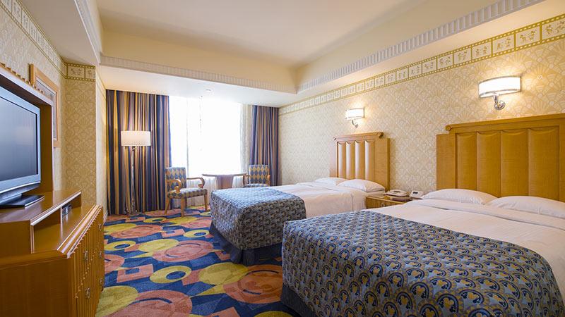 ディズニーアンバサダーホテル客室