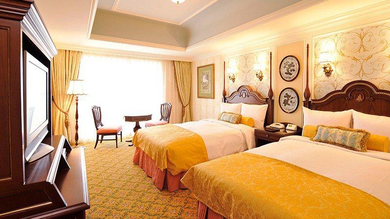 東京ディズニーランドホテル客室