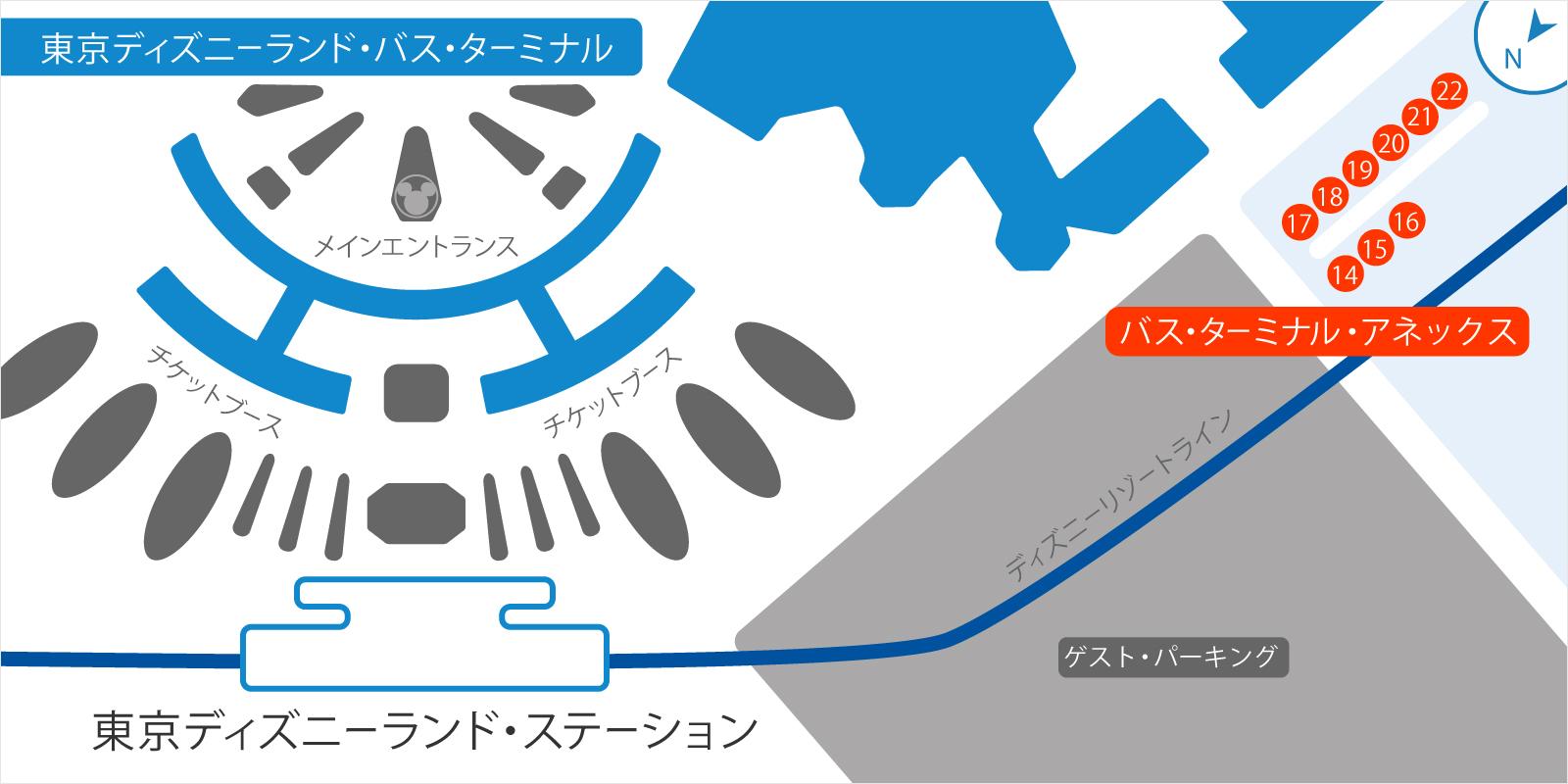 公式】東京ディズニーランド・バス・ターミナル | 東京ディズニーランド