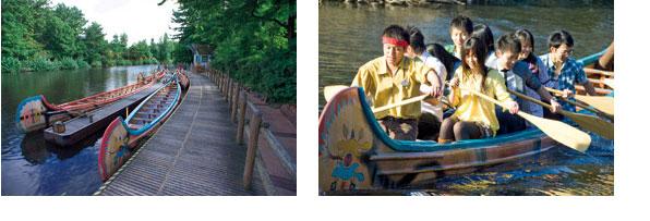 ビーバーブラザーズのカヌー探険のイメージ