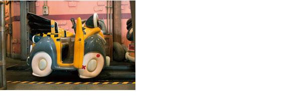 ロジャーラビットのカートゥーンスピンのボートのイメージ
