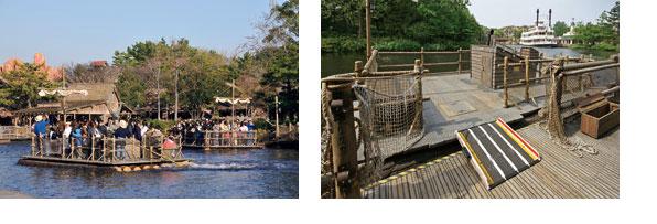 トムソーヤ島いかだのイメージ