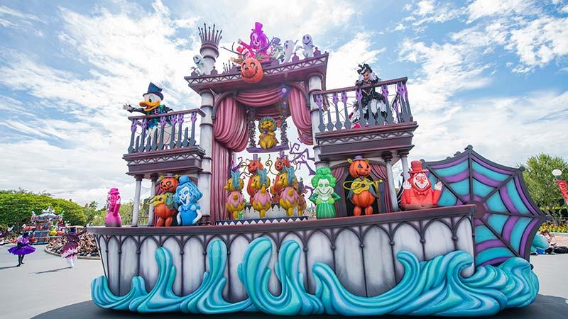 ハロウィーンのパレードの画像