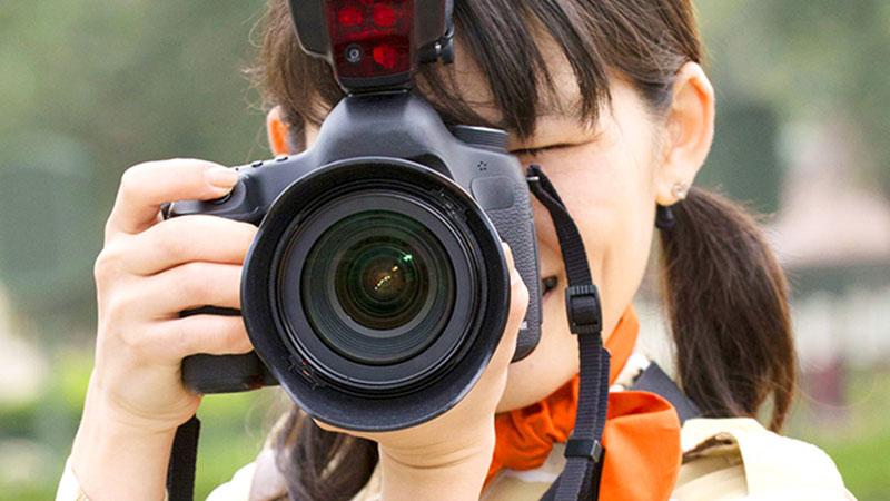 プロのカメラマンによる写真撮影の画像