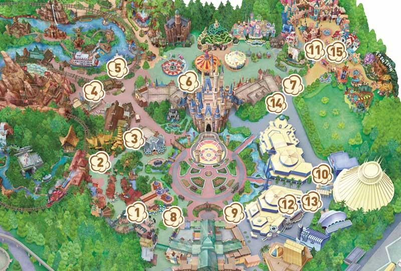 ポップコーンワゴンマップのイメージ
