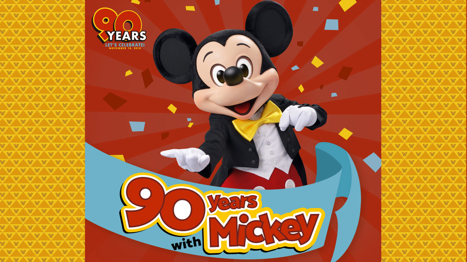 90 years with Mickey イメージ