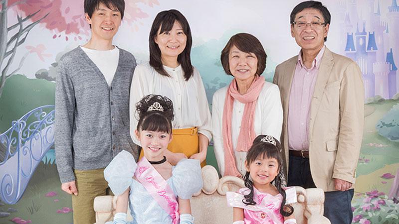 ภาพที่ระลึกพร้อมครอบครัว