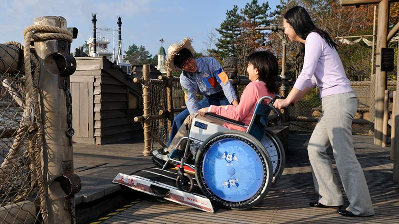 Accompanying Guests with Disabilities