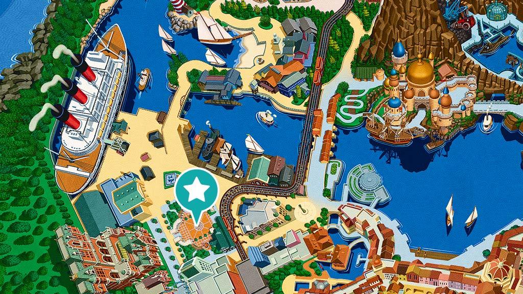 ウォーターフロントパークの地図