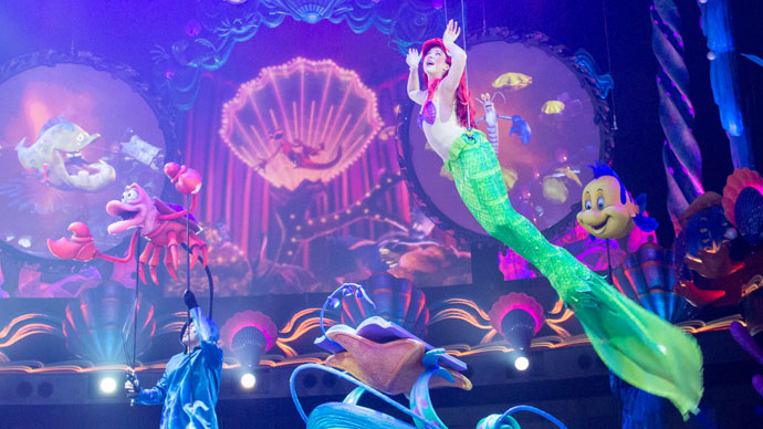"12.Mermaid Lagoon Theater (""King Triton's Concert"")のイメージ"