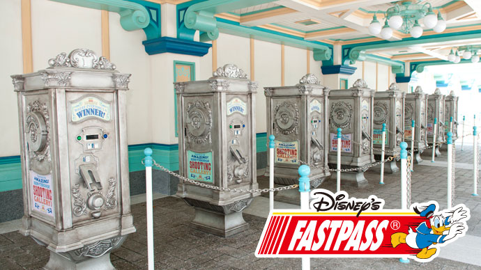 3.Get a Disney FASTPASS® ticket for Toy Story Mania!のイメージ