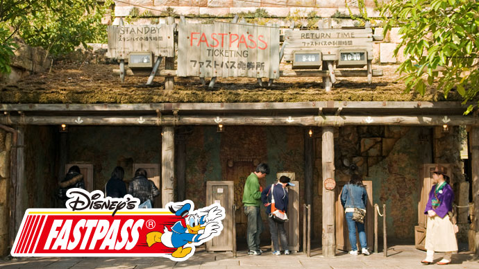 9.Cetak tiket FASTPASS Disney wahana Indiana Jones® Adventure: Temple of the Crystal Skullのイメージ
