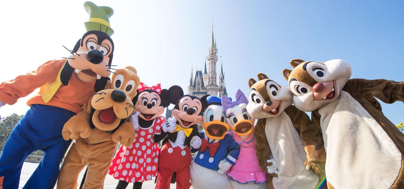 公式】2泊3日でめいっぱい楽しむ東京ディズニーランドと東京ディズニー