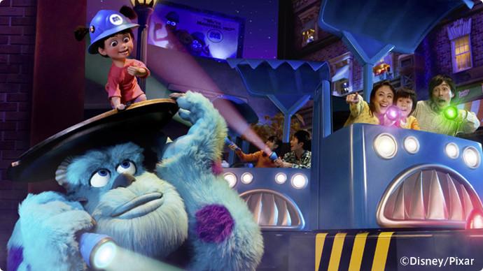 11. Monsters, Inc. Ride & Go Seek!