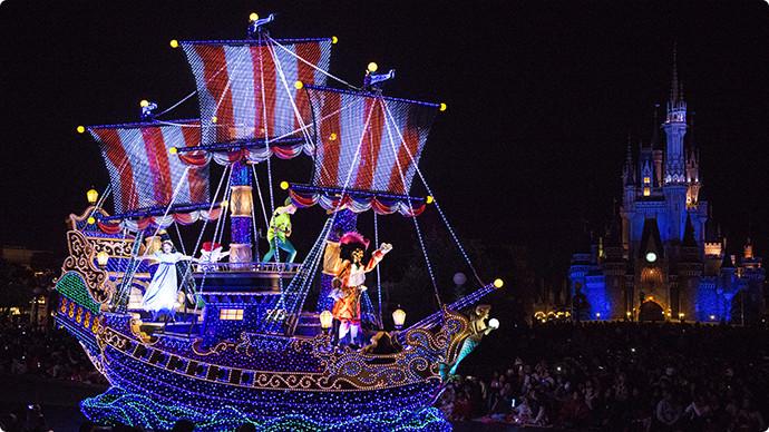 12. Nighttime Parade