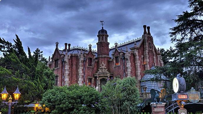 2. Haunted Mansion